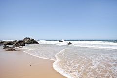 Unspoiled nature in Portugal. The atlantic ocean stock photos