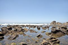 Unspoiled nature in Portugal. The atlantic ocean Stock Image
