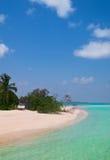 Unspoilt tropical beach Stock Photo