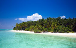 Unspoilt tropical island Stock Images