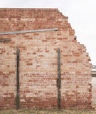 Unstable Brick Wall Royalty Free Stock Photo
