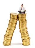 Unstable economy Stock Image