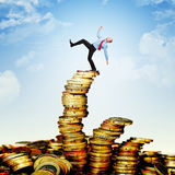 Unstable finance Royalty Free Stock Photography