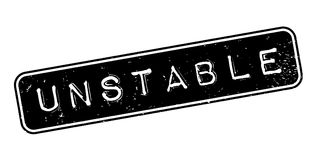 Unstable rubber stamp. Grunge design with dust scratches. Effects can be easily removed for a clean, crisp look. Color is easily changed Royalty Free Stock Photo