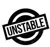 Unstable rubber stamp. Grunge design with dust scratches. Effects can be easily removed for a clean, crisp look. Color is easily changed Stock Photo