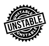 Unstable rubber stamp. Grunge design with dust scratches. Effects can be easily removed for a clean, crisp look. Color is easily changed Royalty Free Stock Image