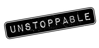 Unstoppable rubber stamp Stock Photo