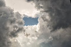 Unsual cloud formation Royalty Free Stock Photos