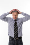 Unsuccessful businessman. Royalty Free Stock Image