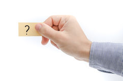 Unsure and uncertainty concept Stock Photo