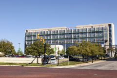 UNT Health Science Center in Fort Worth, TX, USA royalty free stock photo