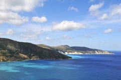 Untamed coast Greece Royalty Free Stock Photo