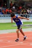 Untaugliche Athleten Stockfotos