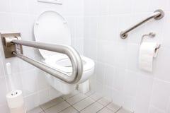 Untaugliche Toilette Stockbild