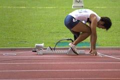 Untauglicher Athlet Stockfotos