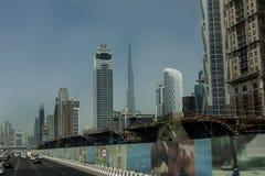 Unten Stadt Dubai Stockfotos