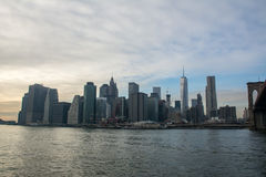 Unten Stadt Manhattan, New York Lizenzfreie Stockfotografie