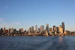 Unten Stadt Seattle Stockbilder