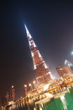 Unten Stadt von Dubai Stockfoto