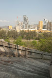 Unten Treppenhaus- und Fabrikansicht Lizenzfreie Stockfotos
