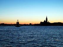 Unten in Venedig Lizenzfreies Stockfoto