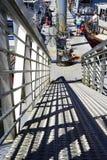 Unten zu den Docks Lizenzfreie Stockfotografie