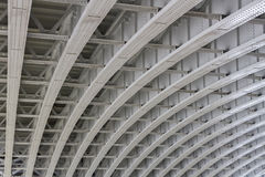 Unter Blackfriars-Brücke Lizenzfreie Stockbilder