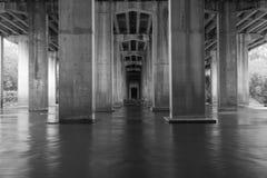 Unter Brücke Stockfotografie