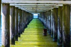 Unter Brücke Lizenzfreies Stockfoto