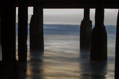 Unter Crystal Pier Stockbilder