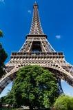 unter dem Eiffelturm Stockfotografie