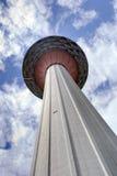 Unter dem Kiloliter-Kontrollturm Stockbilder