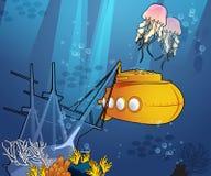 Unter dem Meer Stockbilder