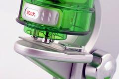 Unter dem Mikroskop Stockbild