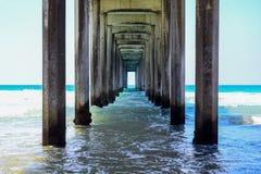 Unter dem Pier Stockfotografie