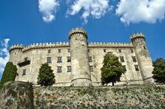 Unter dem Schloss Stockbild