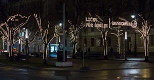 Unter den Linden. Berlin. Germany Royalty Free Stock Photo