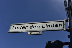 Unter den Linden, Berlin, Germany Stock Photos