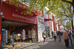 Unter den Linden street in Berlin Royalty Free Stock Photos
