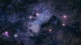 Unter den Sternen stock video footage