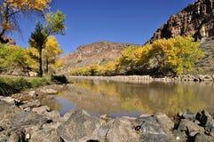 Unter der Abiquiu-Verdammung - New Mexiko lizenzfreies stockbild