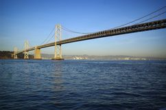 Unter der Brücke Lizenzfreie Stockfotos
