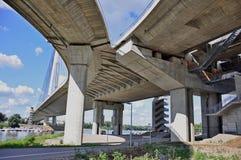 Unter der Brücke Lizenzfreie Stockbilder