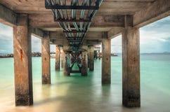 Unter der Brücke Stockfotografie