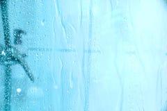 Unter der Dusche Lizenzfreies Stockfoto