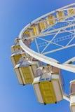 Unter ein Riesenrad Stockbild