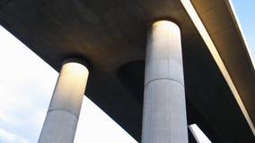 Unter einer Brücke Stockbild