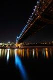 Unter Geschoss-Brücke und Brisbane-Stadt Lizenzfreie Stockfotos