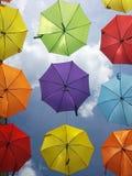 Unter meinen Regenschirmen stockbilder