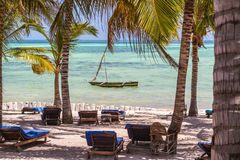 Baie de Watamu Photo stock